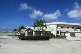 Barbados Golf Club Entrance