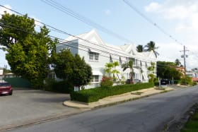 Road view on George Street