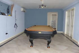 Lower Level Pool Room