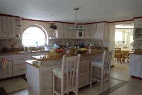 Kitchen with Breakfast/Dining room downstairs