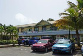 Car Park towards the mall
