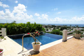 Beautiful Barbados Pool with a View
