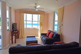 Living area with Lovely Sea Views