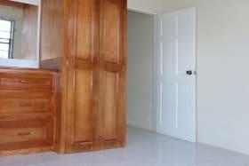 Bedroom with Built in Cupboards