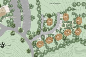 Off Plan Cottages Site Plan