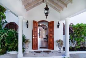 Entrance portico