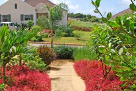 Walkway through Gardens