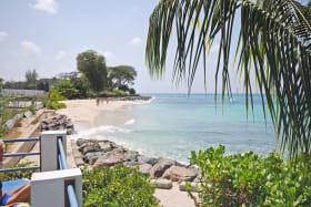 Beach access from Private Beach club at Holetown