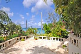Shared terrace overlooks Mullins Beach