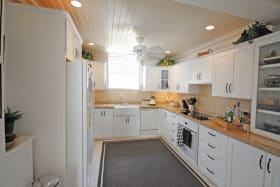 Well equipped and modern kitchen