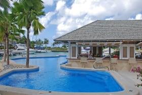 Communal pool and bar