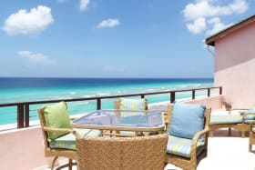 Patio relaxation with ocean breezes