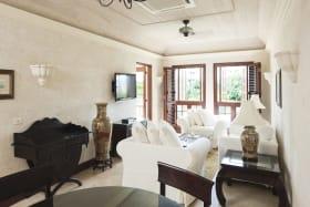Tastefully furnished living area