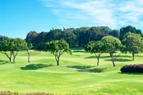 The nearby Sandy Lane Country Club course