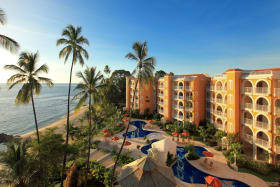 Sunset beach, gazebo, pool