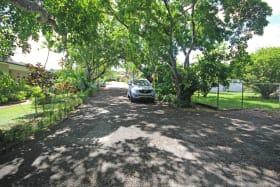 Shared neighbourhood road from lot