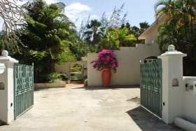 Gated Entry & Parking Area