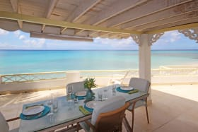 Dining terrace of Sunset Reach