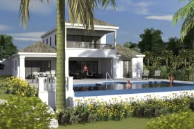 Grand Fairway Villa Pool Area