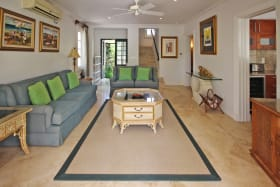Living room on ground level