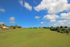 1.05 acres of land