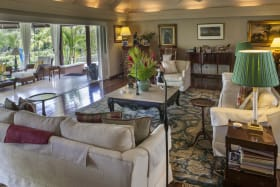 Formal sitting room opens to verandah