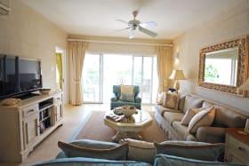 Lounge opens to verandah