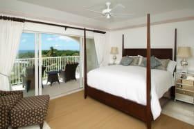 Bedroom with Balcony & Ocean View