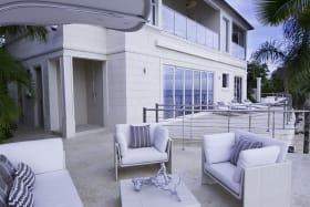 Expansive patio