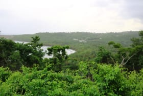 View of surrounding areas and sea from subject lot