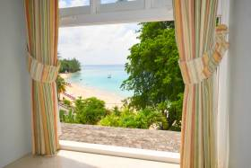 Amazing view of Mullins beach and the sea from master bedroom