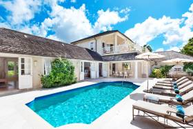 Inviting swimming pool and surrounding terrace