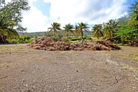 Rectangular parcel of land
