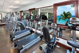 State-of-the-art Gym with stunning sea views