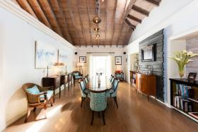 Gracious dining room