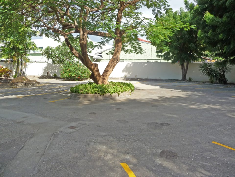 Car park courtyard