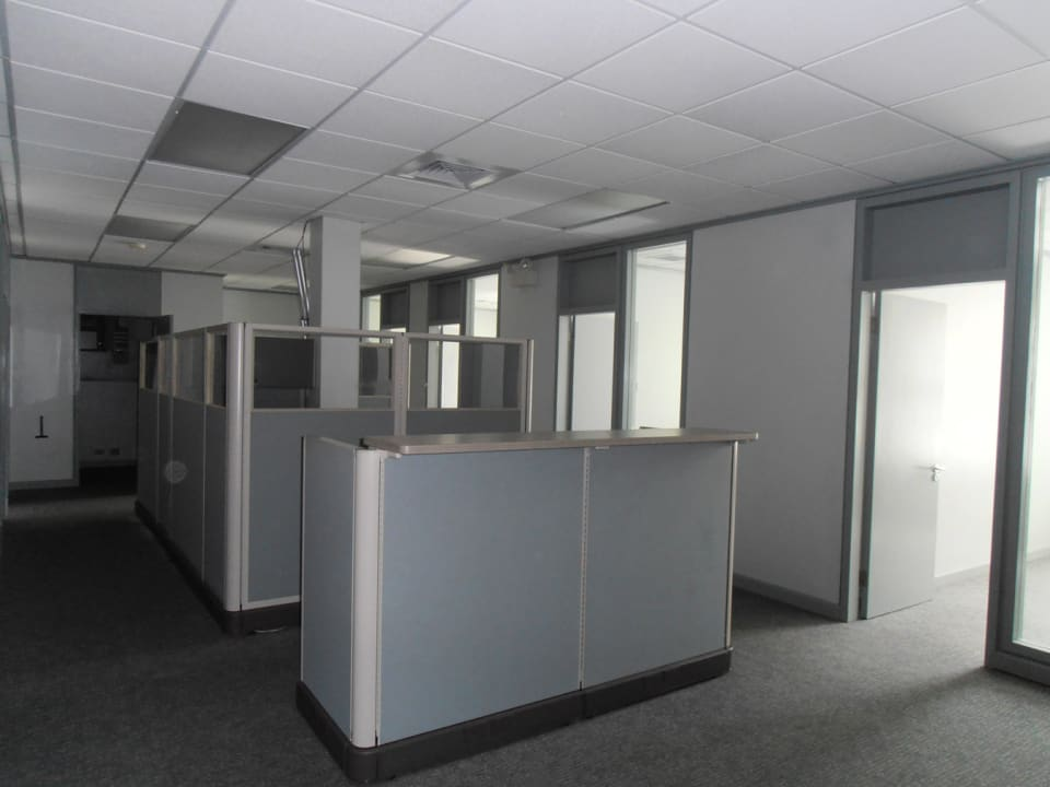 Open plan office space