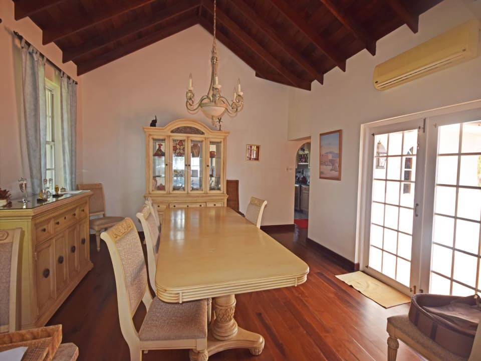 Dining room - hardwood floors