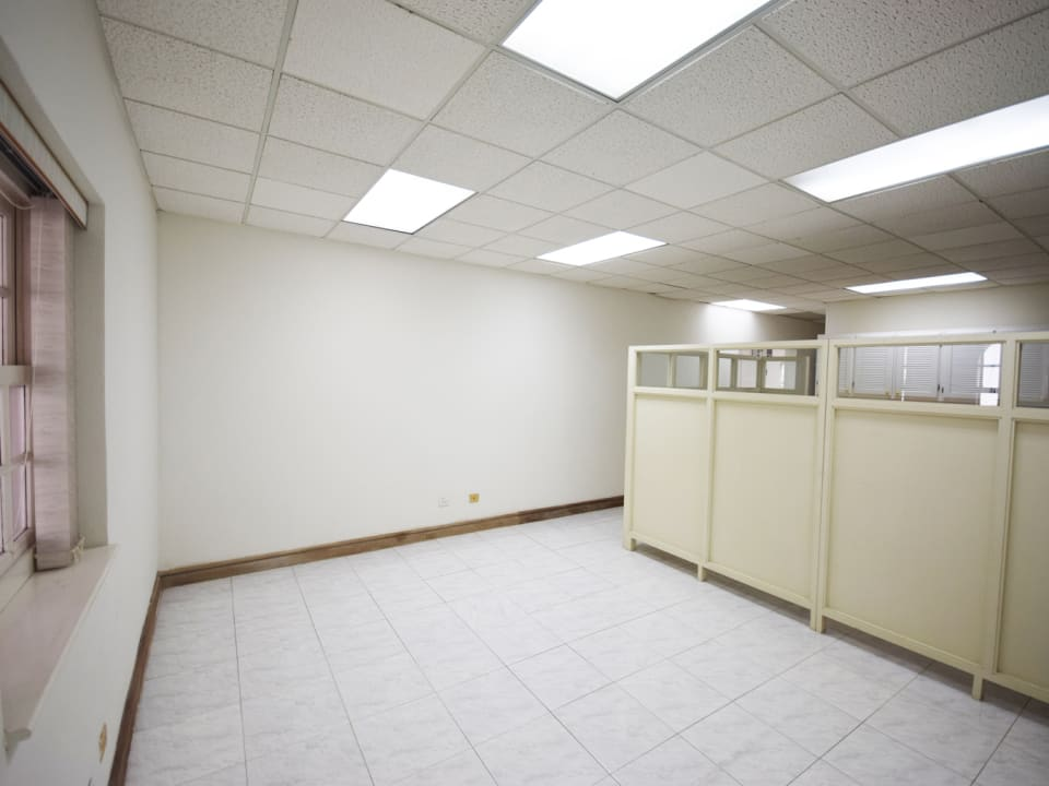 Great space for storage - kitchenette is opposite