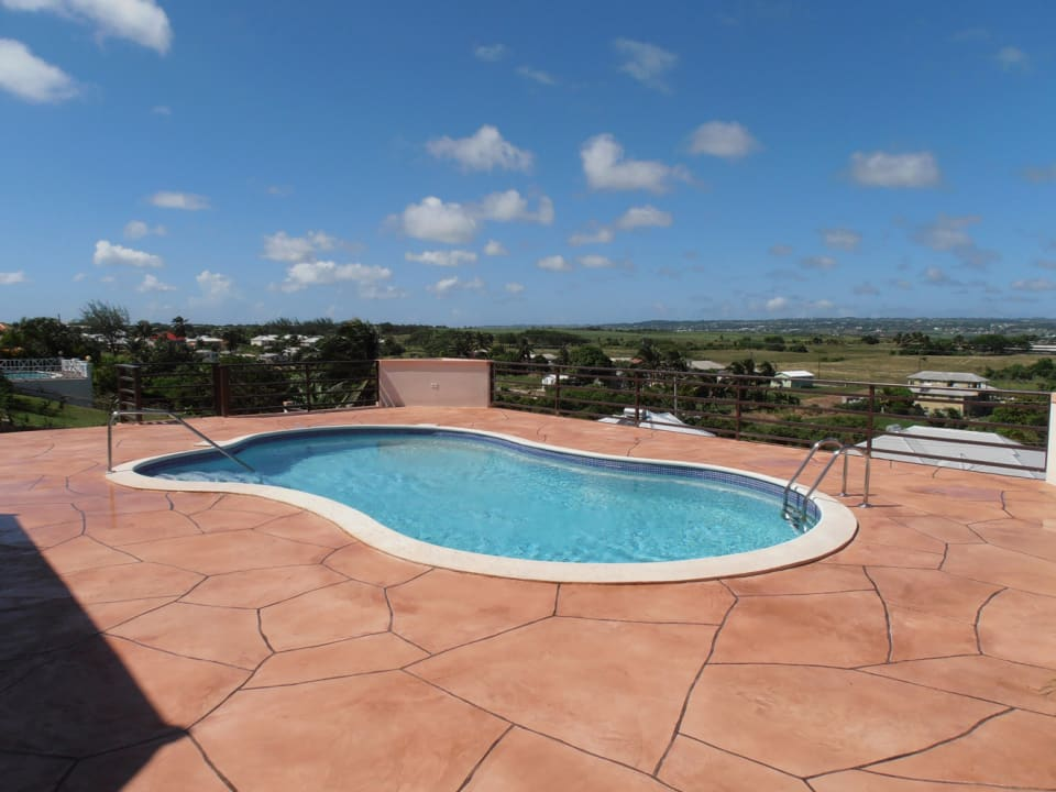 Pool Deck - Great Views of Barbados Countryside