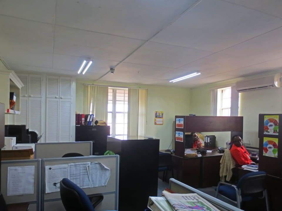 Large open plan office area