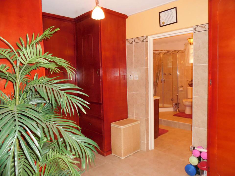 Master Bedroom Closet leading to Bathroom