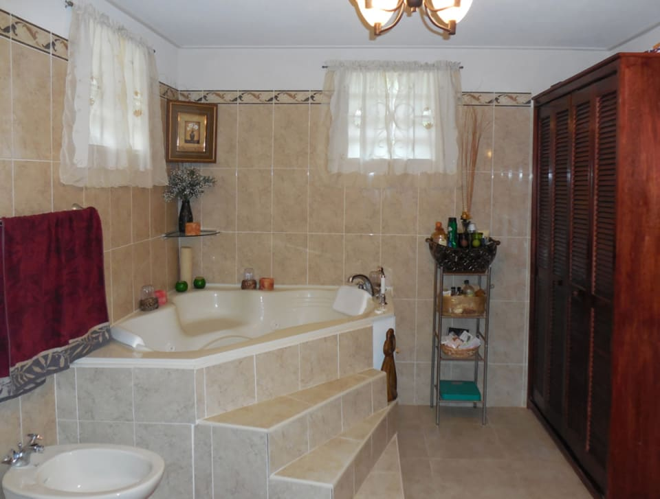 Jacuzzi Bathtub in Master Bathroom