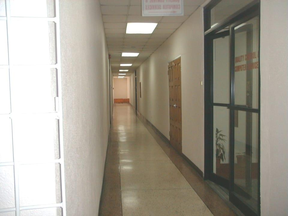 First floor corridor.