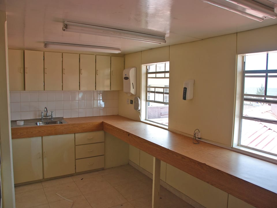 Kitchenette upstairs