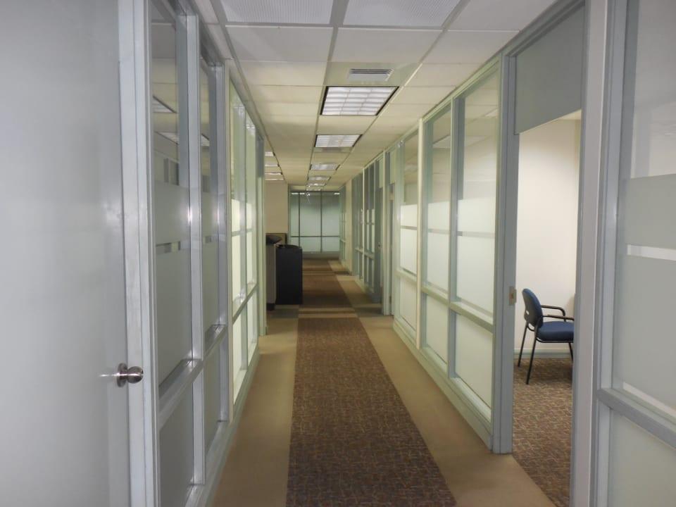 Second hallway on second floor