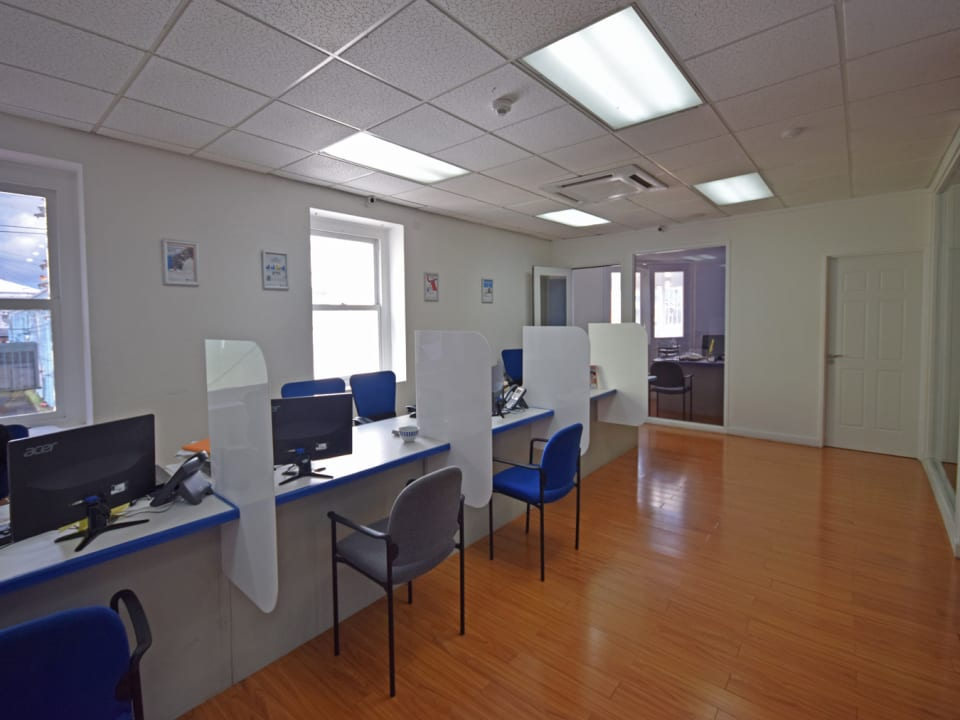 Well finished office space
