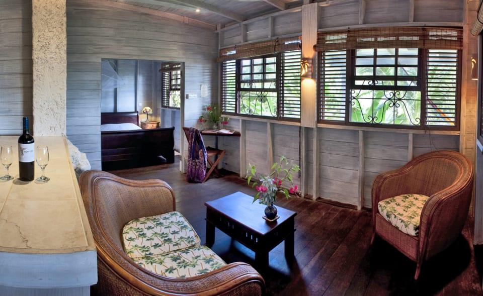 Apartment sitting area