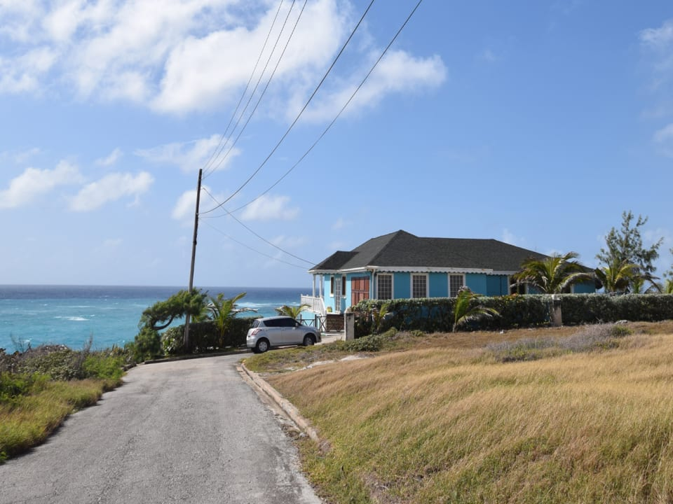 The House and Caribbean Sea
