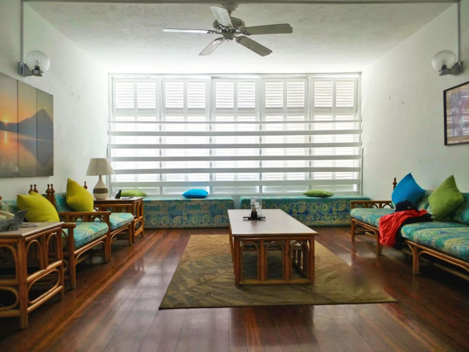 Living room of one unit